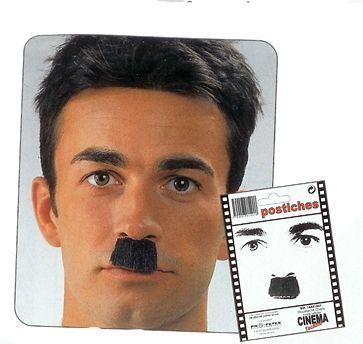 Moustache Charlot Noire