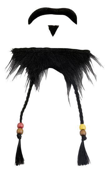 Barbe Et Moustaches Pirate des Caraïbes