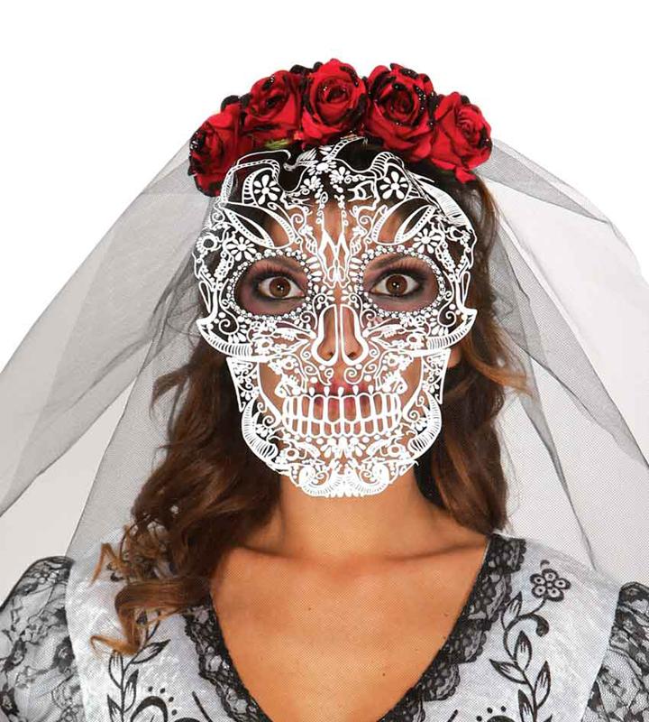 Diadème jour des morts mexicain