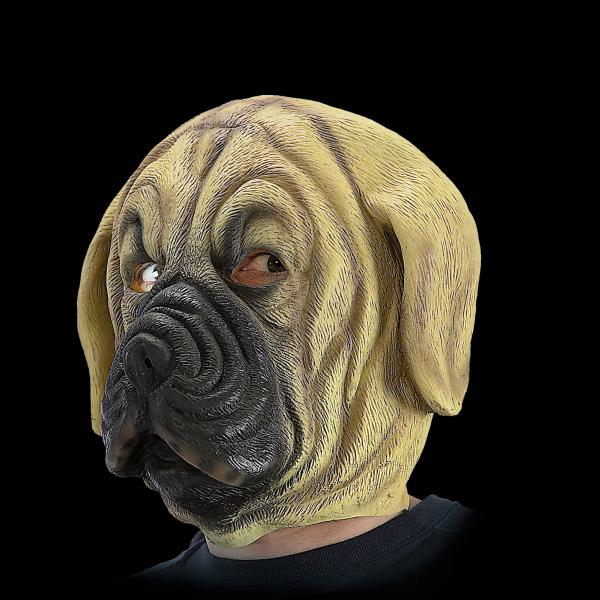 Masque de chien en latex