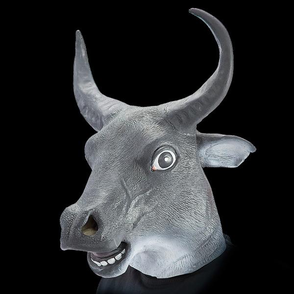 masque de taureau en latex