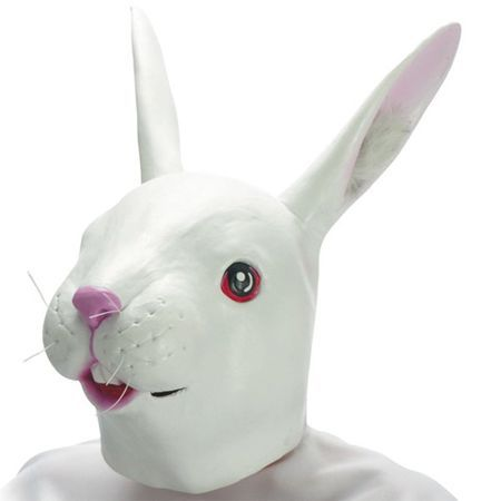 Masque de Lapin En Latex