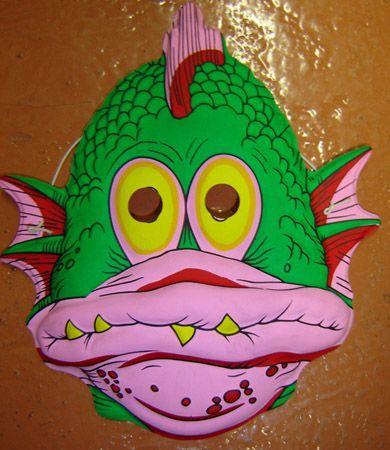 Masque Poisson Enfant