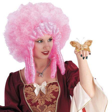 Perruque de Marquise Rococo Rose
