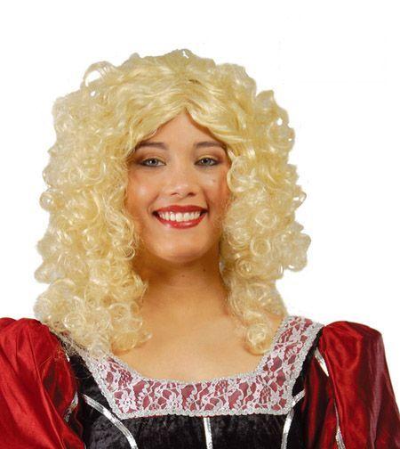Perruque de Princesse Blonde