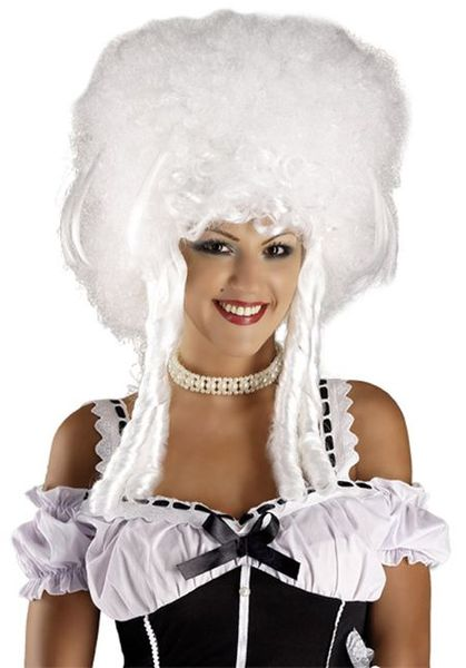 Perruque de Marquise Baroque blanche