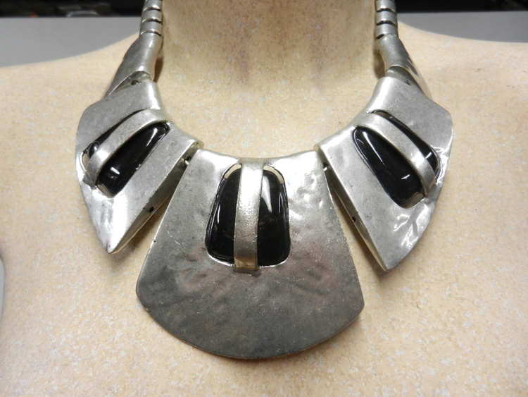 Collier métal argent