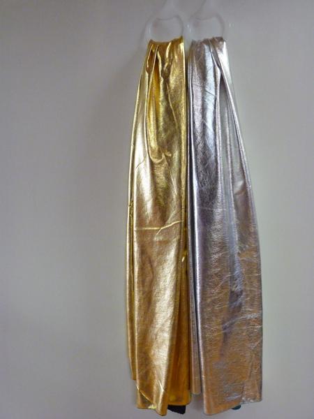 Echarpe ou ceinture disco métallisée