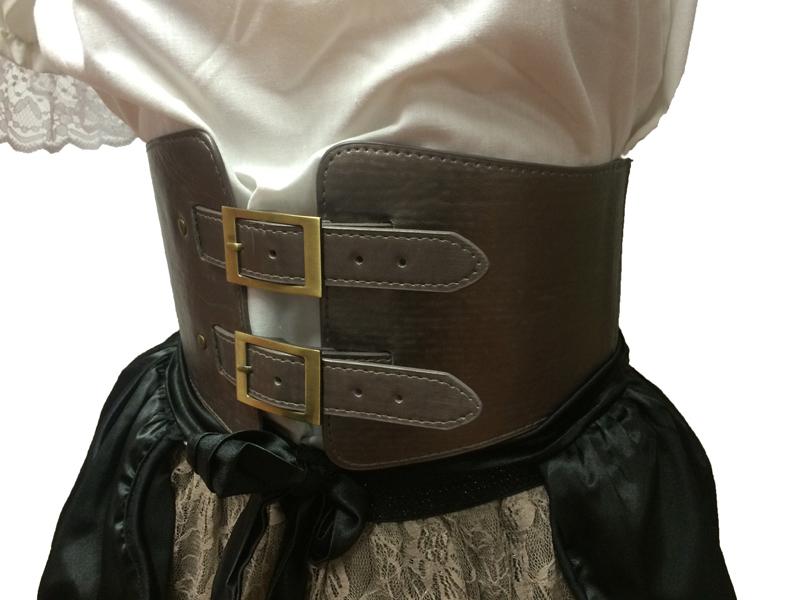 Ceinture corset steampunk