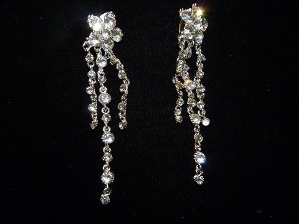 Boucles d\'oreilles strass Crystal