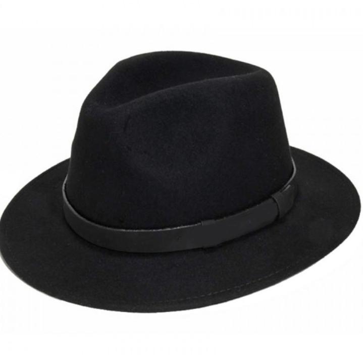 Chapeau borsalino laine noir