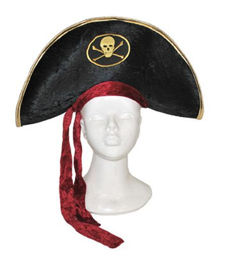 Chapeau de Pirate En Tissu