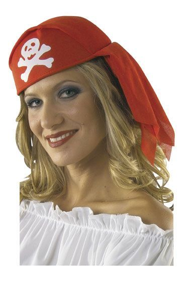 Coiffe de Pirate Rouge