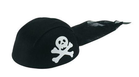 Coiffe de Pirate Noire