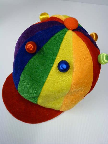 Casquette Rainbow lumineuse