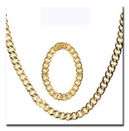 Kit Chaines Et Bracelet En Métal