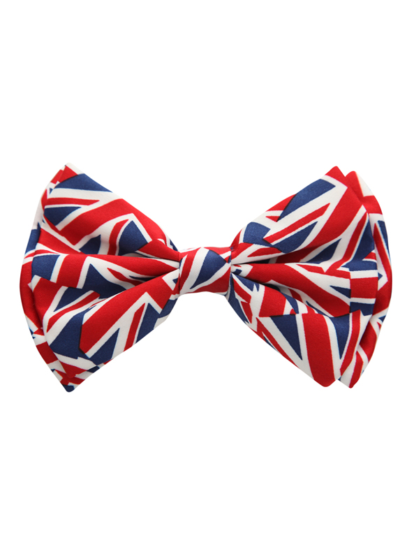 Noeud papillon union jack