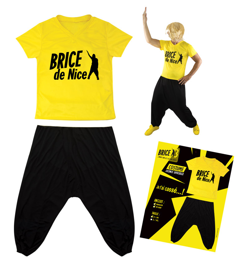 Déguisement Brice de Nice