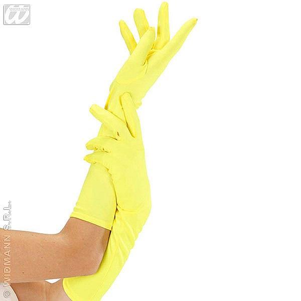 Gants jersey 45 cm jaunes
