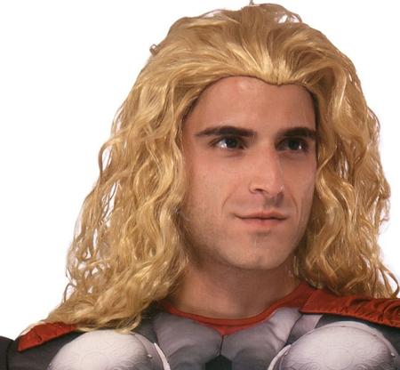 Perruque blonde Héros