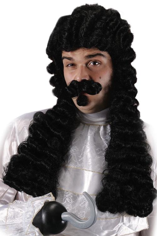 Perruque Capitaine Crochet