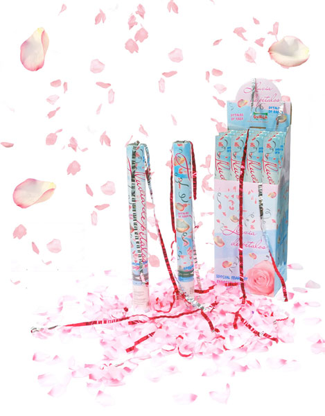 Canon à Confettis Pétales de Roses