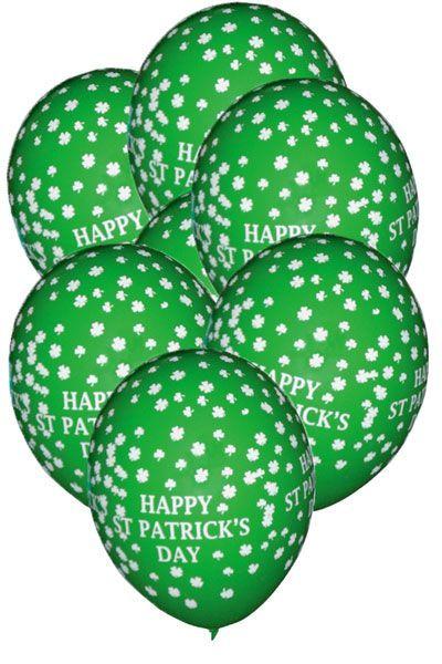 Ballons St Patrick x 10