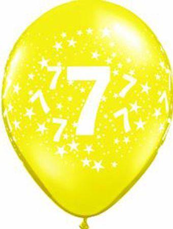 Ballons En Latex Chiffres 7