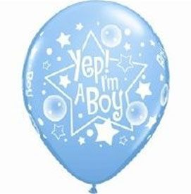 Ballons Bleus En Latex Imprimés It\'S A Boy