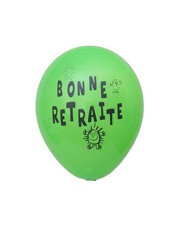 Ballons Thème Retraite