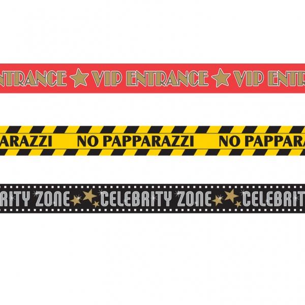 Kit 3 banderoles thème cinéma