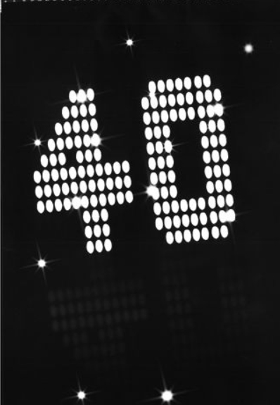 Guirlande 40 ans VIP
