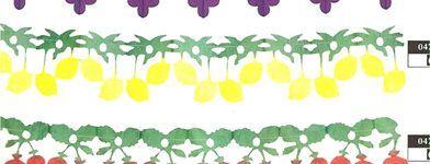 Guirlande papier thème agrume : Citrons