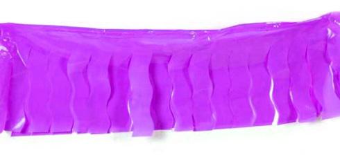 Guirlande en plastique lilas 25 M