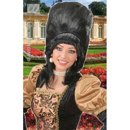 Perruque Baronne Ou Marquise Noire