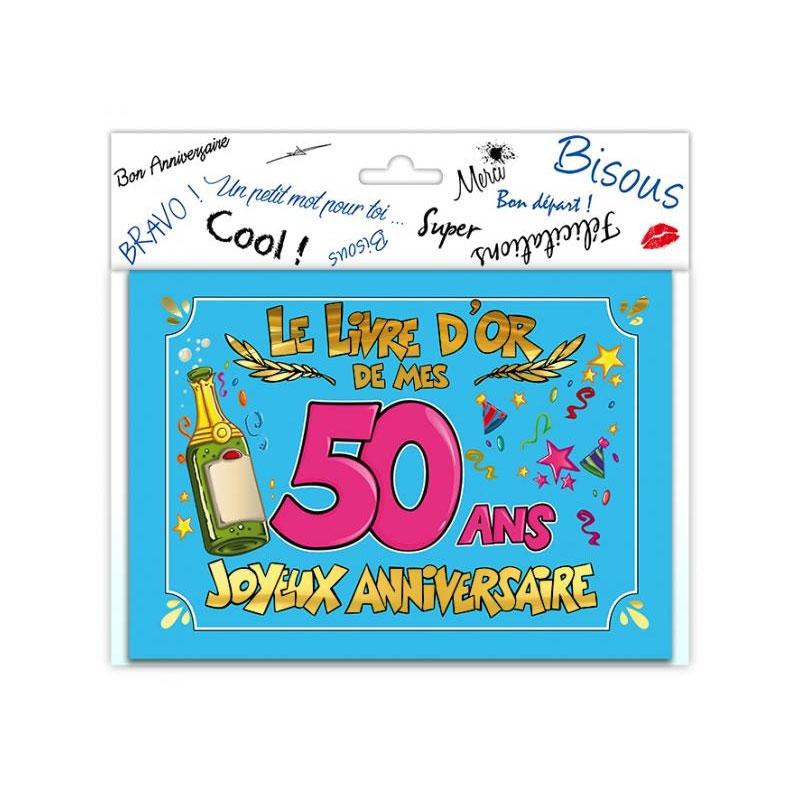 Livre d\'or anniversaire 50 ans
