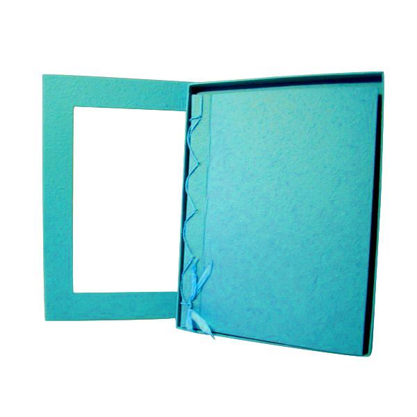 Livre d\'or turquoise grand modèle