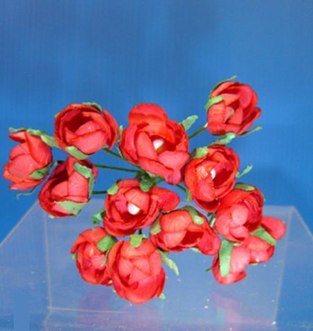 Bouquet de Mini Roses Rouges