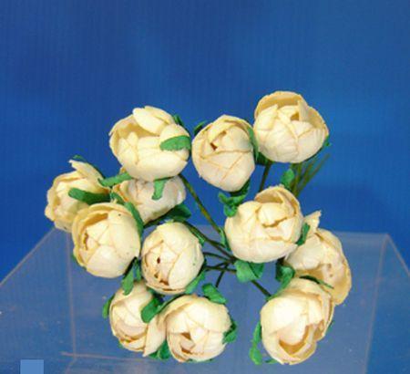 Bouquet de Minis Roses Ivoires