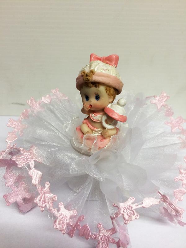 ballotin bébé rose