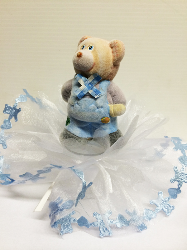 Ballotin dragées ours bleu
