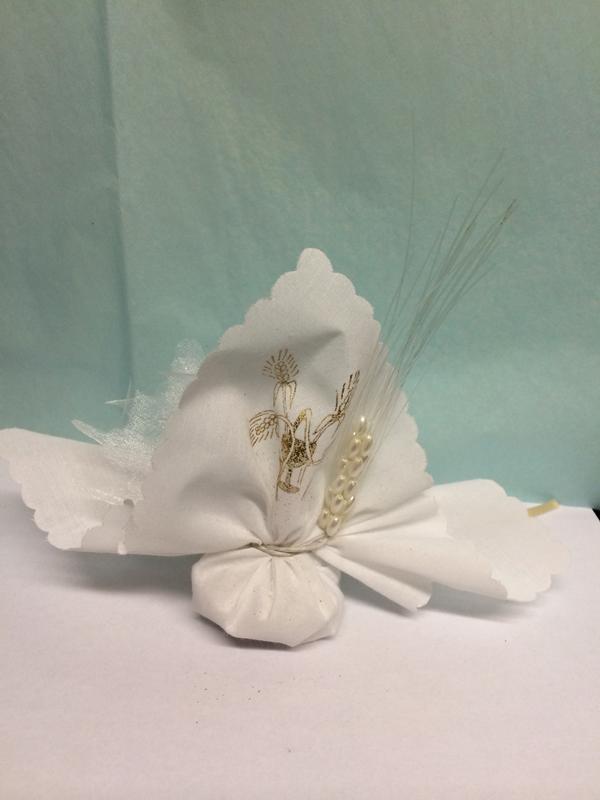 Ballotin dragées communion épi de blé