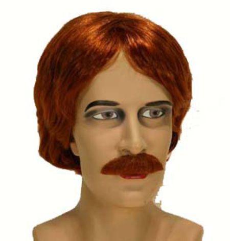 Perruque Et Moustache Rousses