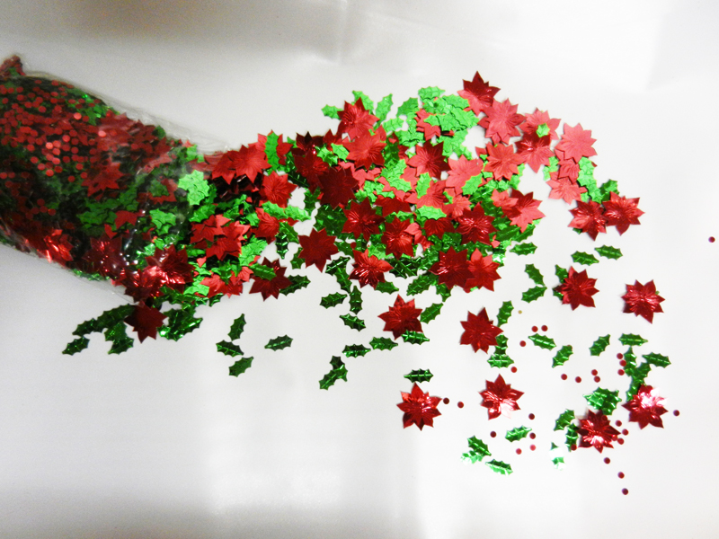 Confettis de table Noel