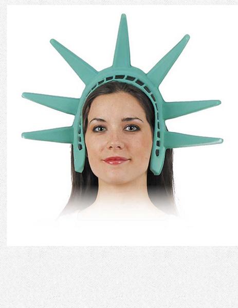 Diadème statue de la liberté