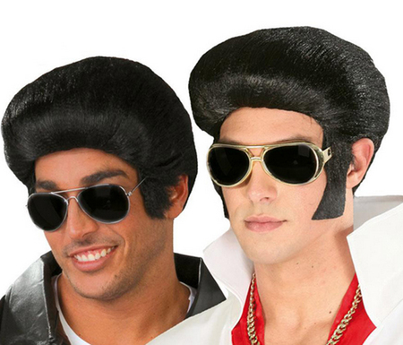 Perruque année 50 Elvis