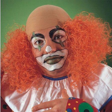 Perruque Clown Crane Chauve