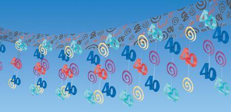 Guirlande 40 Ans