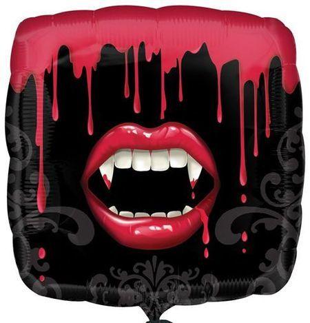 Ballon Mylar Bouche Sanglante Vampire