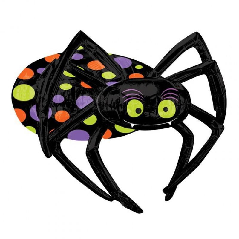 Ballon mylar araignée